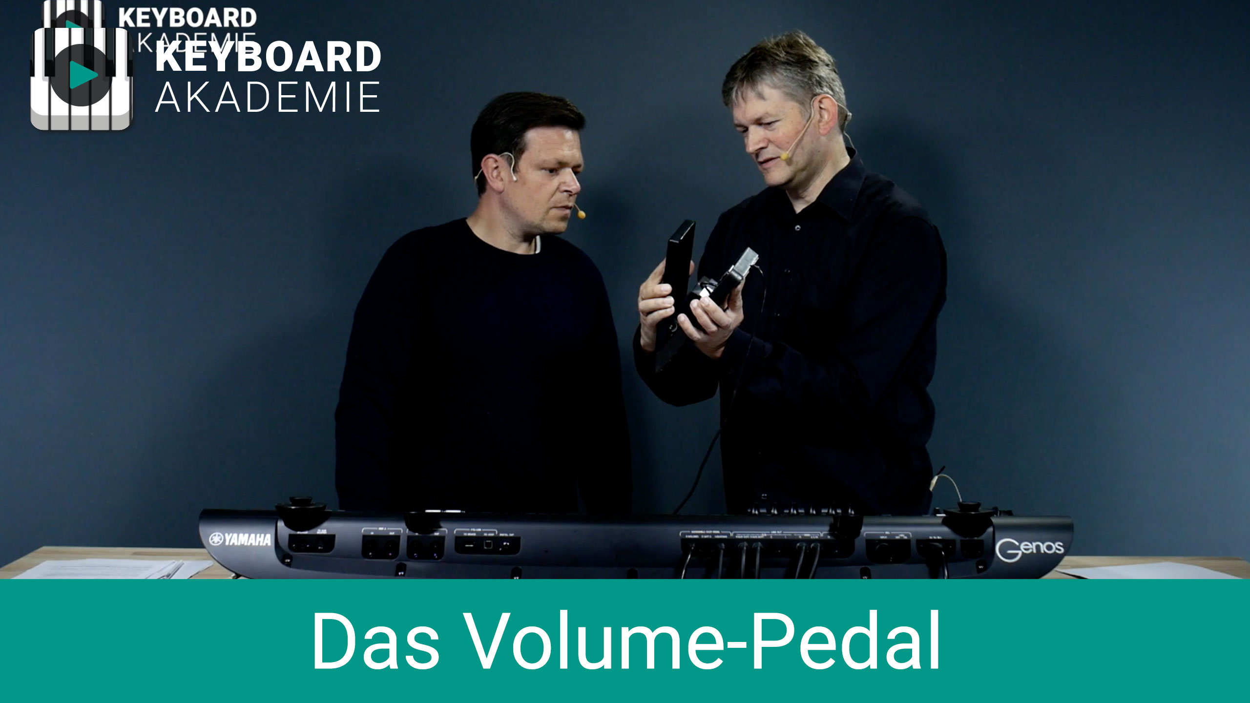 Das Volume-Pedal | Genos | Power-Tipp