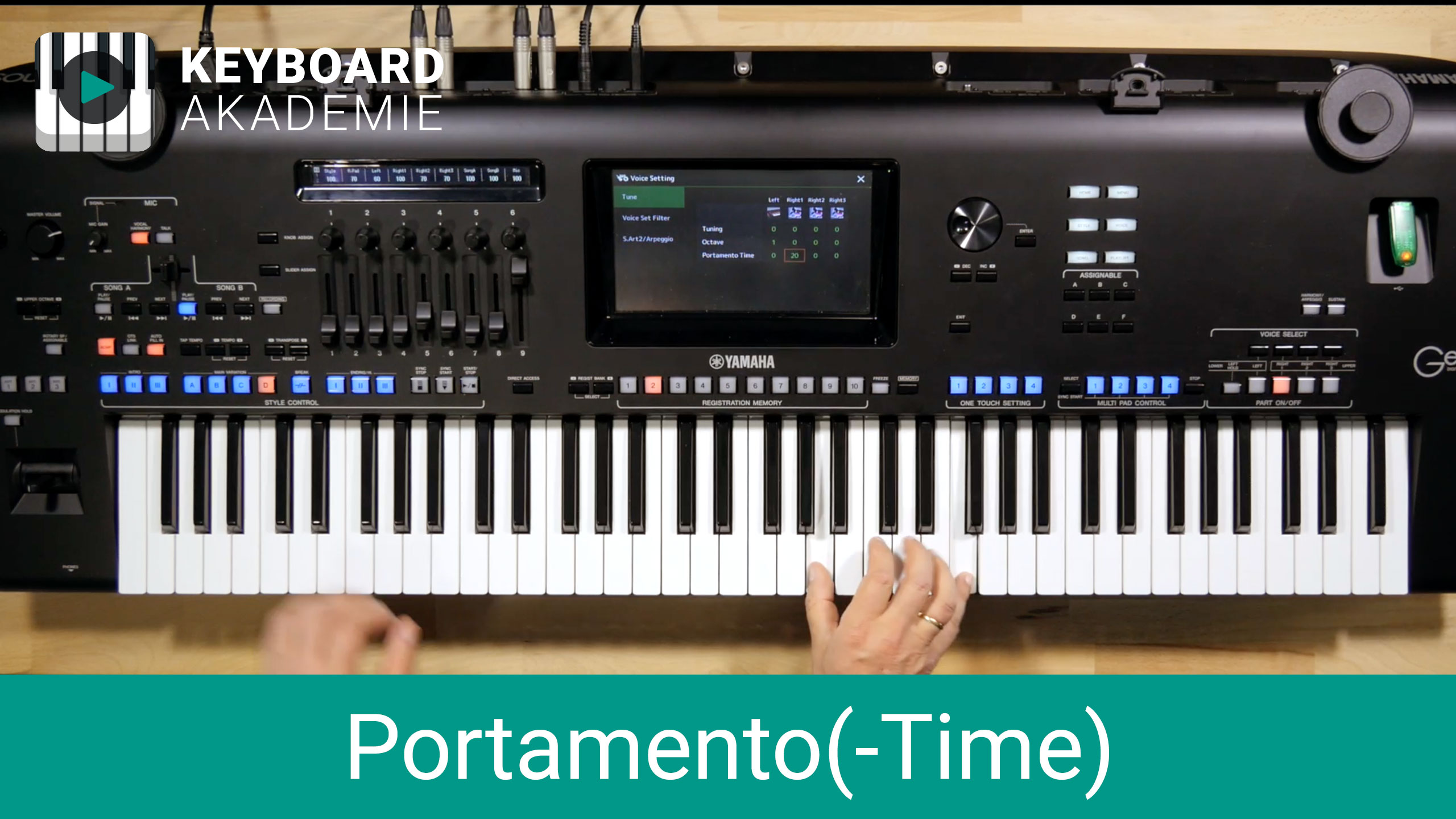 Portamento(-Time) einstellen | Power-Tipp