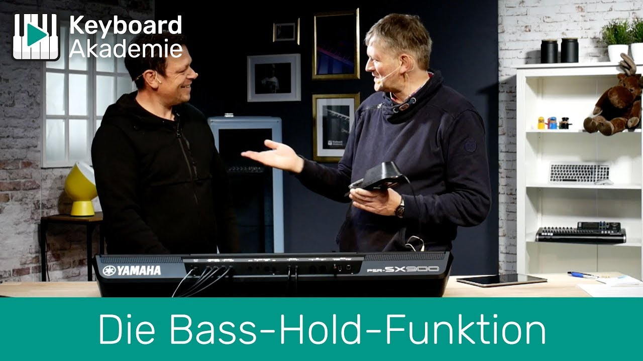 Die Bass-Hold-Funktion | Power-Tipp