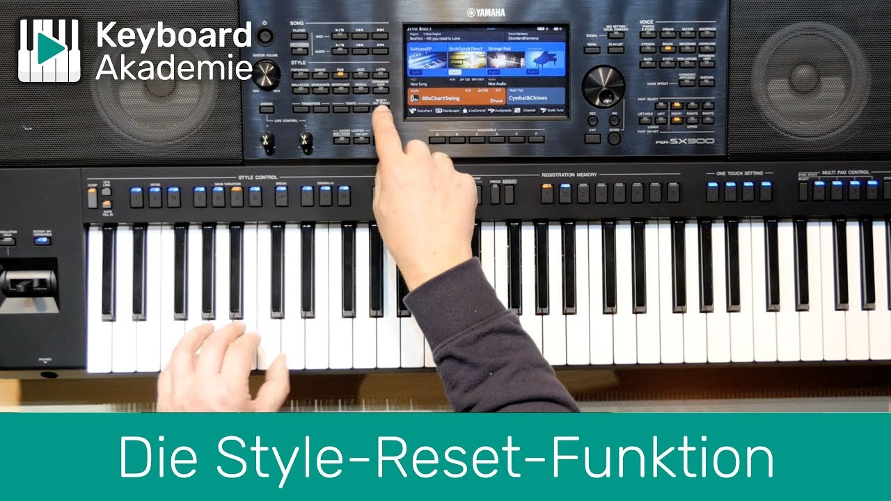 Die Style-Reset-Funktion | Power-Tipp | SX900 | Genos ab Firmware v2.0